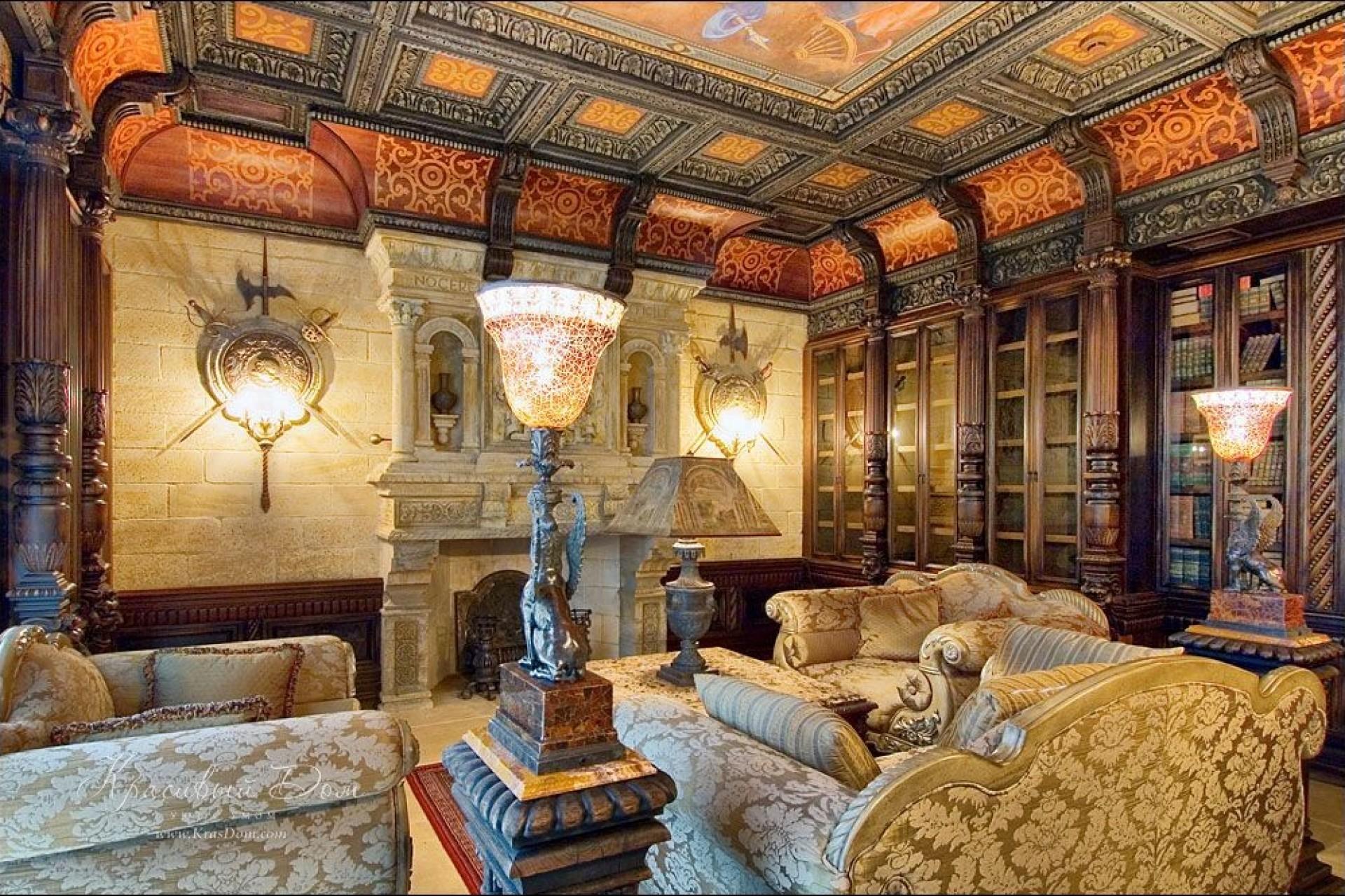 Дизайн в замковом стиле