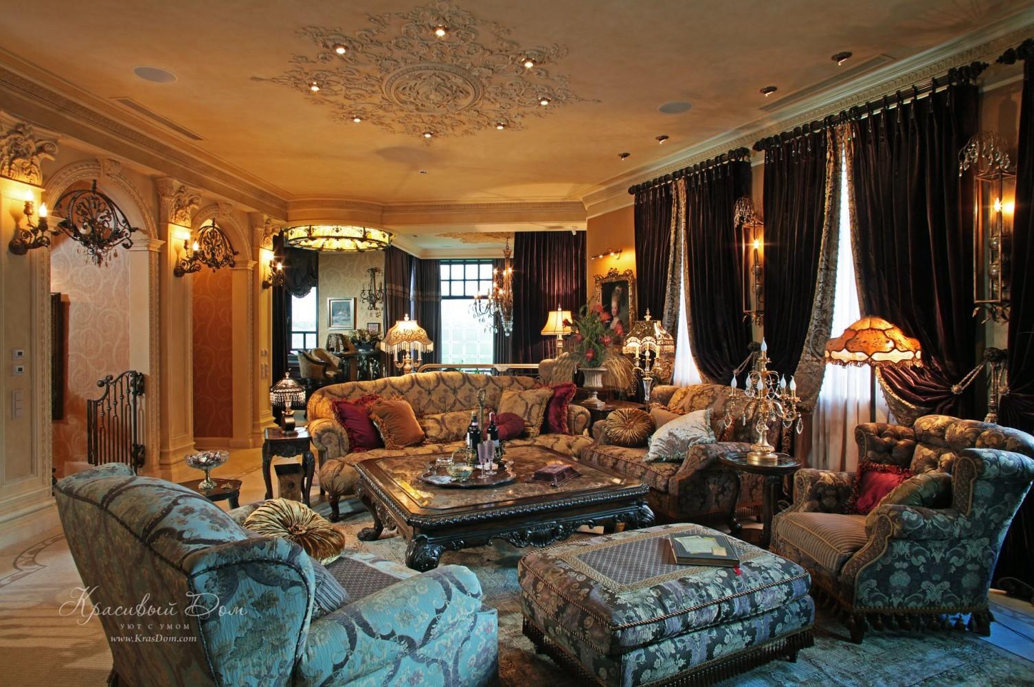 Элитная мебель для гостиной фото