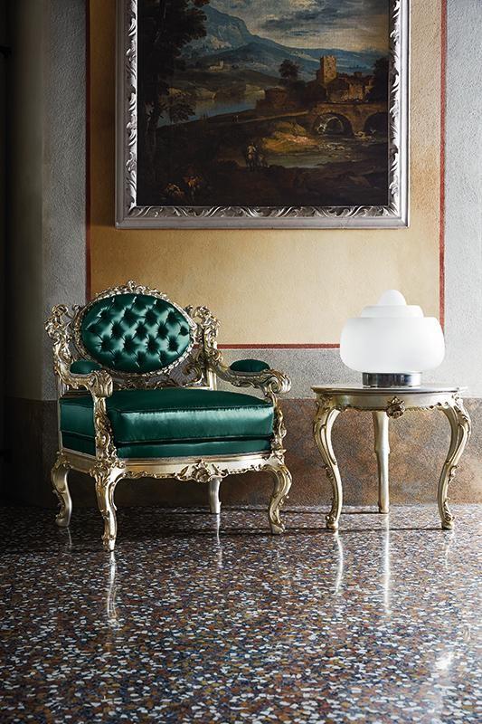 Стиль барокко столики