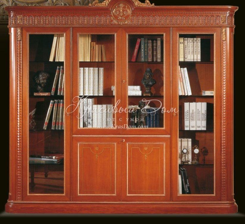 Книжный шкаф oak e6001. классический. collezioni classic. ку.