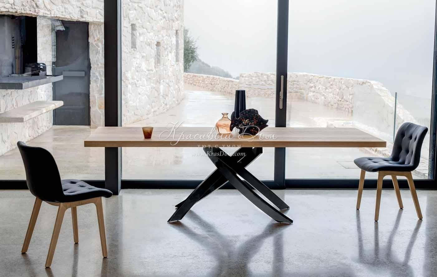 Деревянная столешница для обеденного стола столешница ледяная искра на заказ