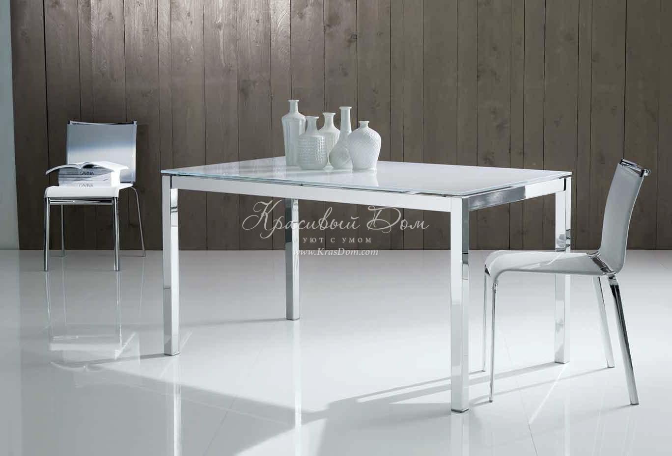 стол обеденный Mbnt023 стеклянный обеденный стол на