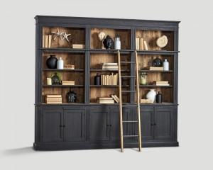 Шкаф книжный - dbn/153. шкаф из древесины с открытым верхом .